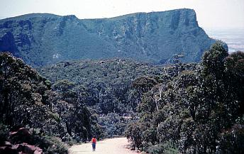 The Grampians offer spectacular mountain views